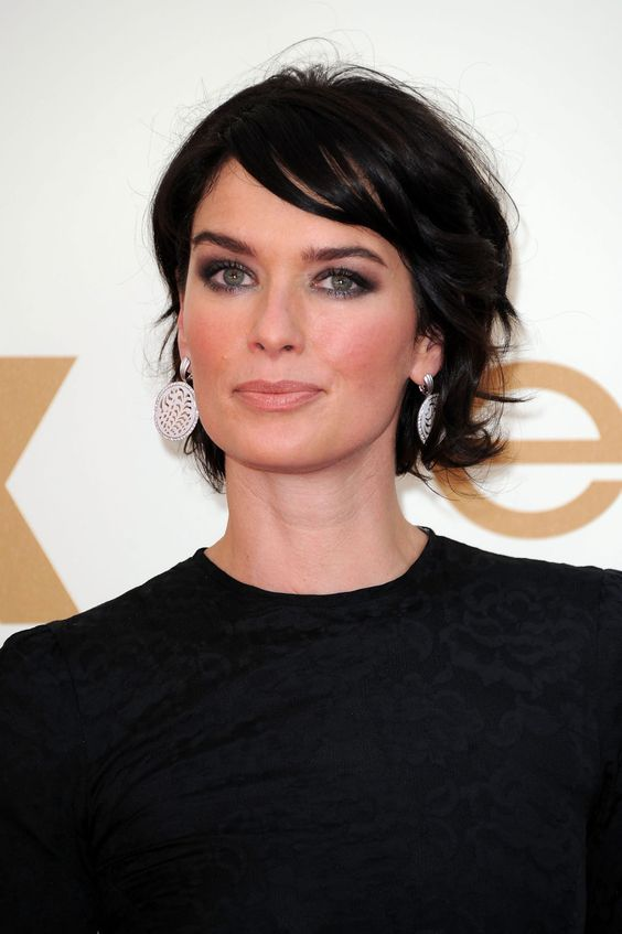Lena Headey:  IF I ever had the courage to go this short with my hair.