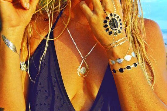 Suene Fernandes: Moda: Tendência: Flash Tattoo Bijoux.