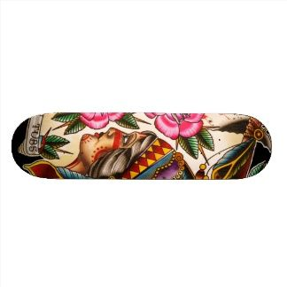 beautiful indian skateboard deck, to hang as art for my skateboard deck trip tic.