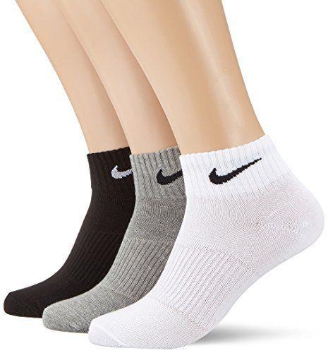 Nike – Lightweight Quarter Lot de 3 paires de Chaussettes: 3