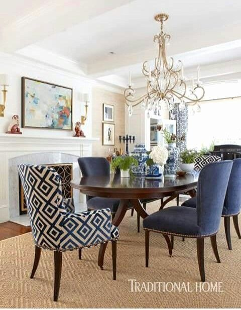 Blue Living Room Chairs Luxury Beautiful Dining Room Decor Ideas In 2019 Dining Room Navy Dining Room Blue Dining Room Small