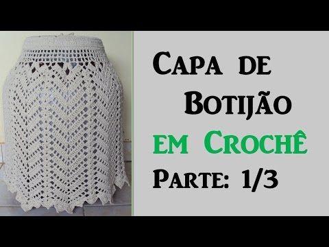 Capa de Botijão em Crochê - Parte: 1/3 Por Wilma Crochê - YouTube
