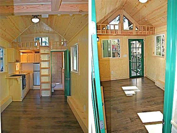 Dormer Loft Cottage By Molecule Tiny Homes: Interior Jason's Molecule House. Love The Dormer, Wonder
