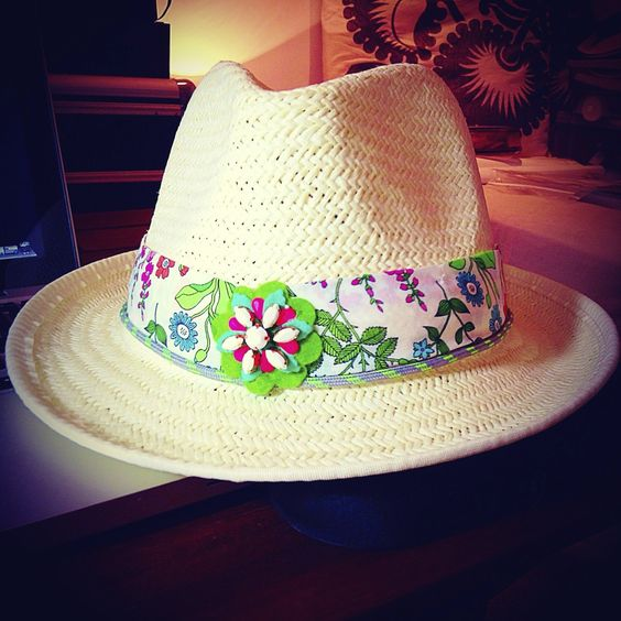 Liberty Print and Swarovski Trilby by GreenEyeRocks, www.greeneyerocks.com
