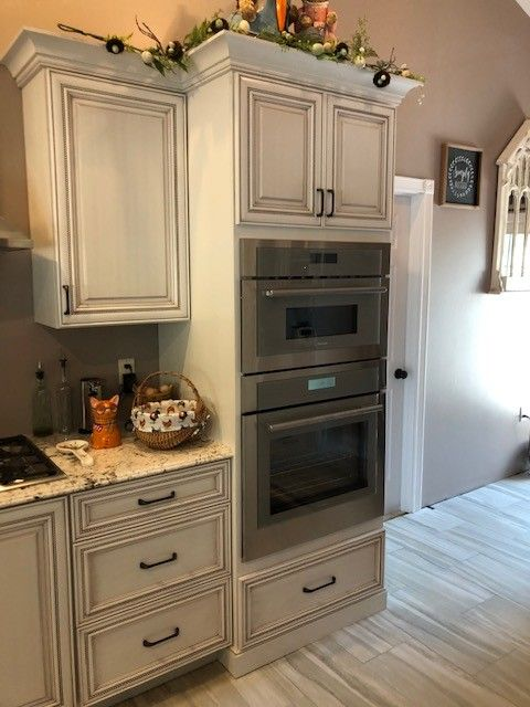 In Wall Oven Cabinet Oven Cabinet Clean Kitchen Cabinets Wall Oven