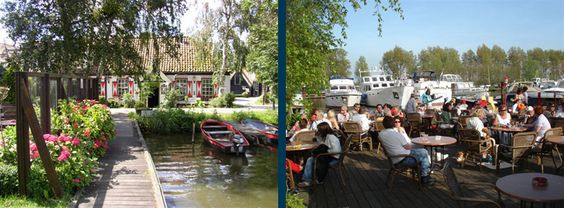 Restaurant 't Kombof, de Woude, Noordholland