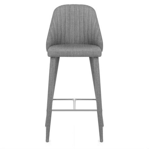 Fabulous Shelby Bar Stool Grey Fabric Dining Room Bar Stools Ibusinesslaw Wood Chair Design Ideas Ibusinesslaworg