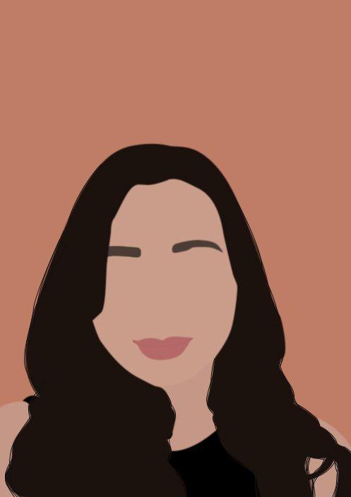 Simple Custom Digital Portrait Cartoon Caricature Art Self Portrait Illustration Vector Digital Art With Your Photo Gift for her