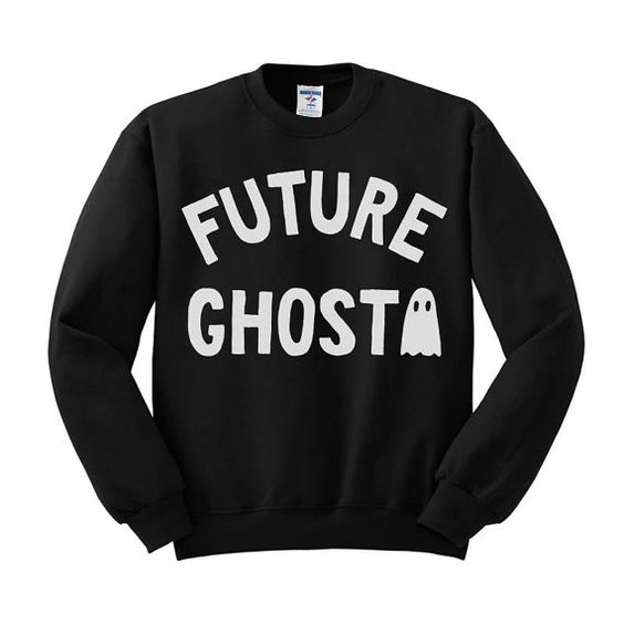 Future Ghost Crewneck Sweater Halloween Crew by TeesAndTankYouShop: