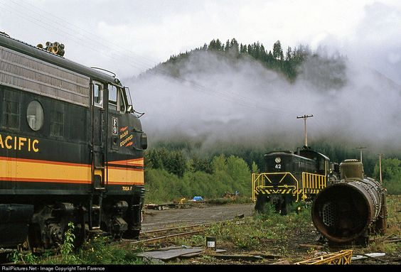 RailPictures.Net Photo: NP 7012A Northern Pacific EMD F9(A) at Mineral, Washington by Tom Farence
