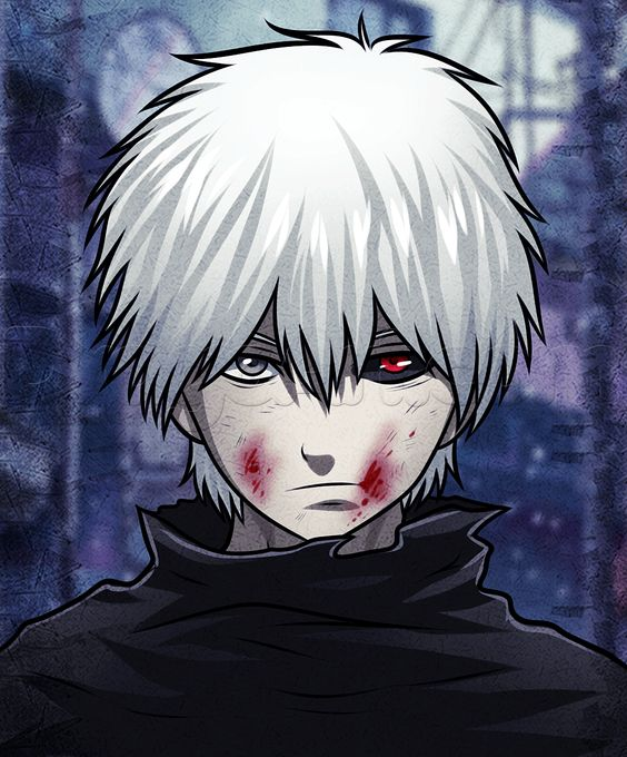how to draw kaneki easy from tokyo ghoul