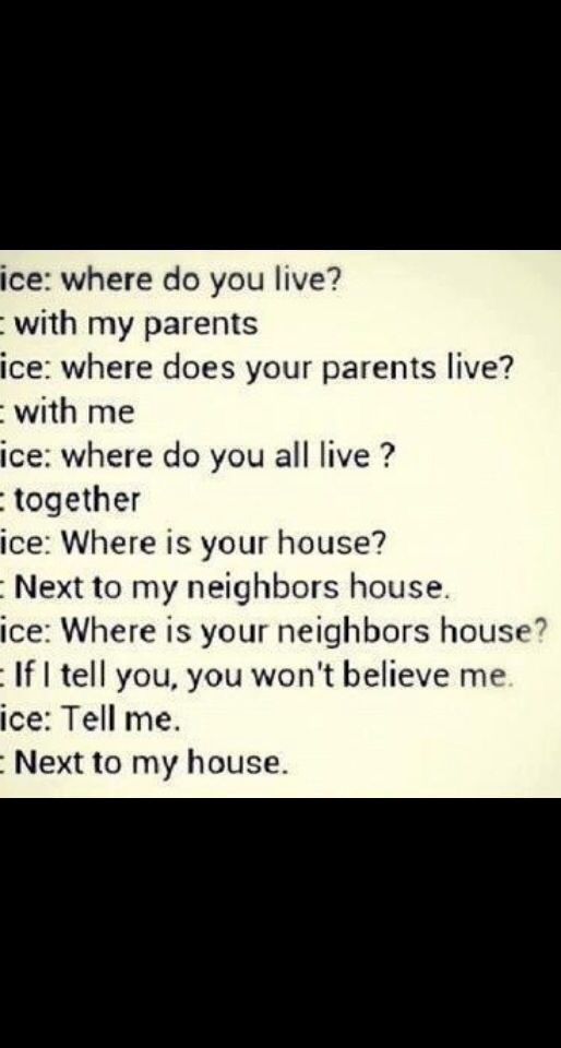 I'm so saying this next time sombody asks me where I live