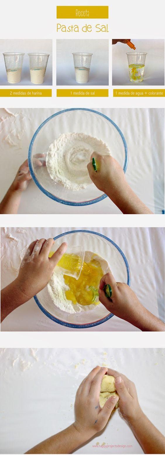 Receta contra el aburrimiento: pasta de sal