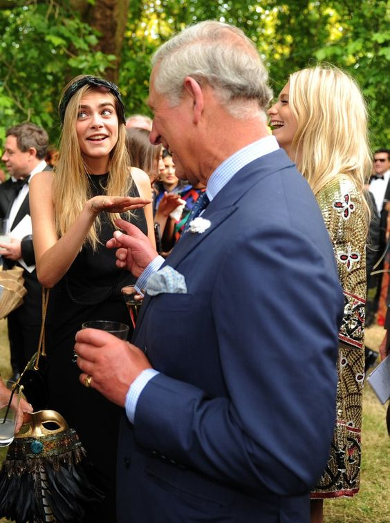 Pin for Later: 23 Times Cara Delevingne Changed the Rules of Fashion And Make Jokes With Prince Charles