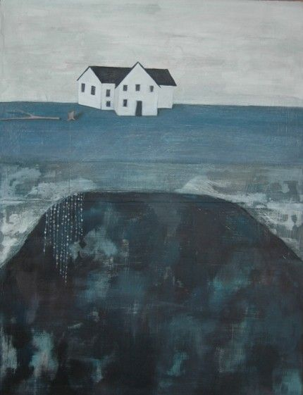 House print by Britt Hermann. There is a story that draws you in. #rowenamurillo
