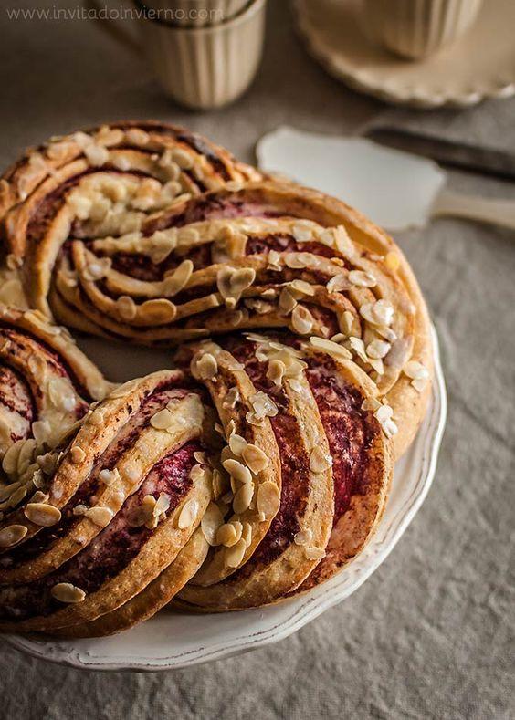 Una receta espectacular!   Trenza de brioche italiana   Recetas con fotos paso a paso El invitado de invierno