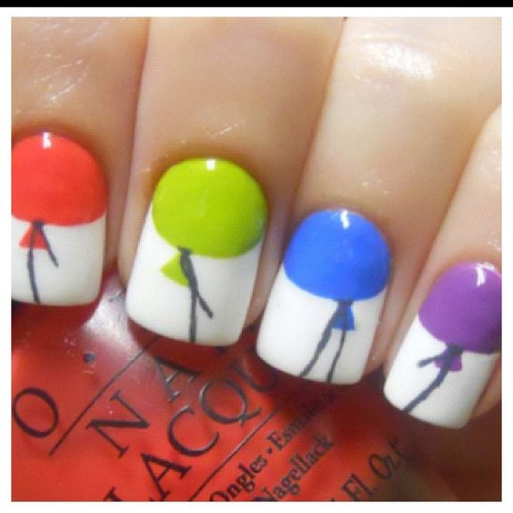 Balloons for nails
