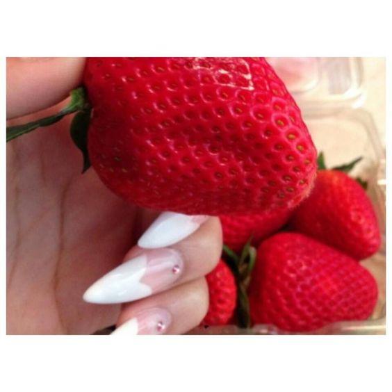 strawberries are my fav fruit