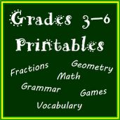 Classroom Centers and Games. For Grades 3 - 6! #Math #Grammar