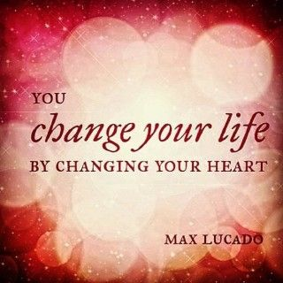 Don't change your heart, simply let the light inside shine!