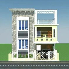 North Facing House Elevation Designs Floor Elevation House Front Elevation Designs For D Small House Elevation Design Small House Elevation Duplex House Design