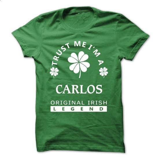 [SPECIAL] Trust Me Im A CARLOS St. Patricks Day Tshirt - #plain t shirts #yellow hoodie. BUY NOW => https://www.sunfrog.com/Valentines/[SPECIAL]-Trust-Me-Im-A-CARLOS-St-Patricks-Day-Tshirt.html?id=60505