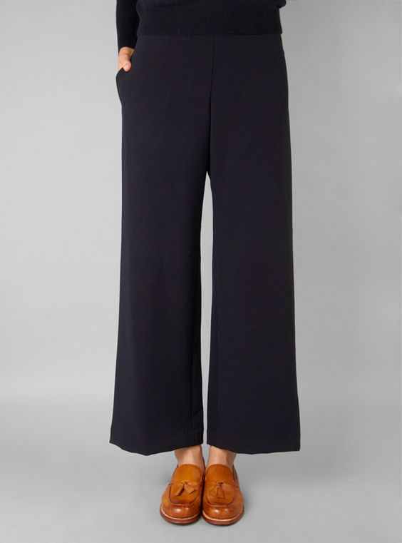 Couverture and The Garbstore - Womens - Rachel Comey - Brunswick Wide Leg Pant