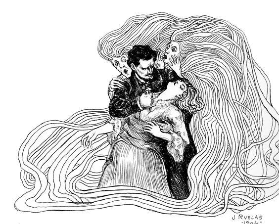 The art of Julio Ruelas. Revista Moderna, México.: