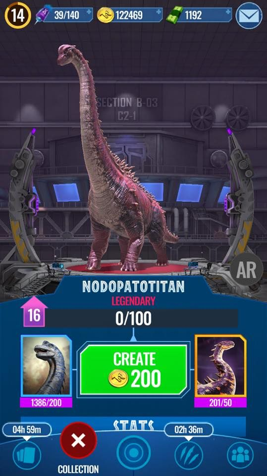 How To Get Legendary Dinosaurs In Jurassic World Alive