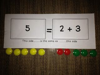 Classroom Freebies: Understanding the Equal Sign