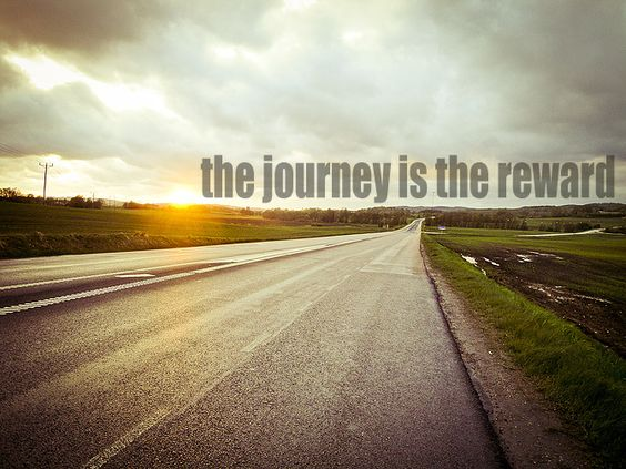 the journey is the reward #quote #running #fitness traningsgladje.se