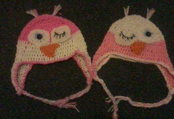 Winking owls