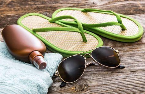 Zonnebrandmiddelen accumuleren op hoge niveaus in uw lichaam