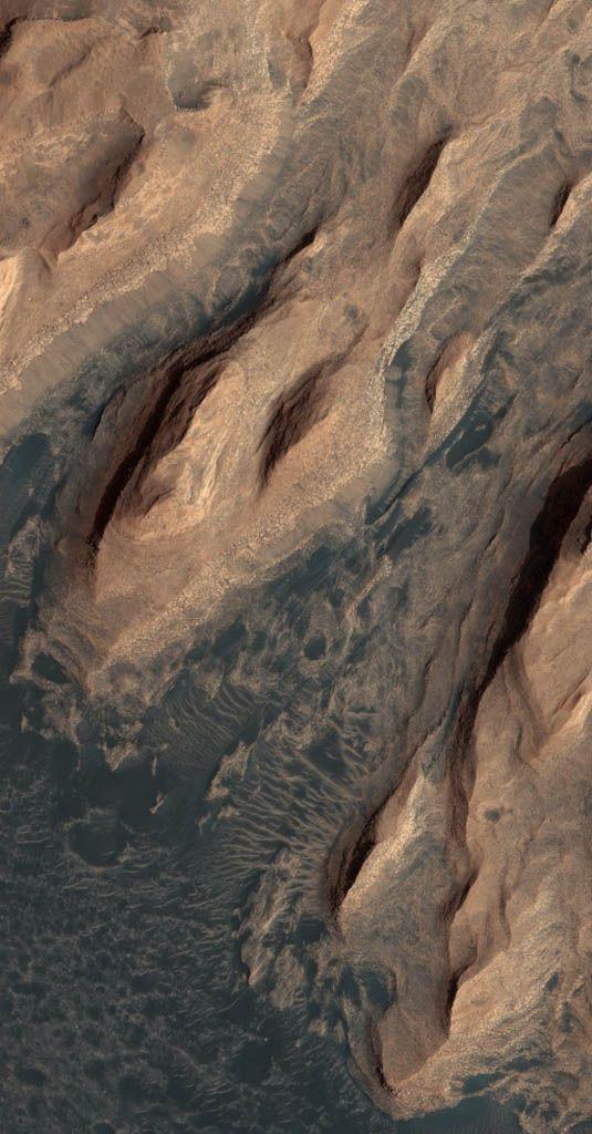 glass hills of mars.