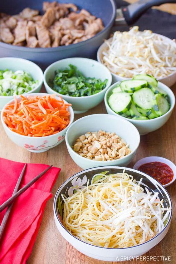 Vietnamese Bun Cha Gio