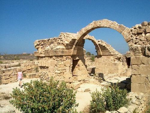 saranta kolones ruins paphos-Cyprus