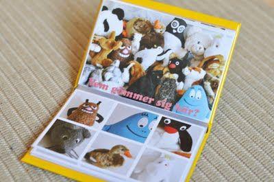 Fabrique un livre du style I spy avec la mascotte de la classe