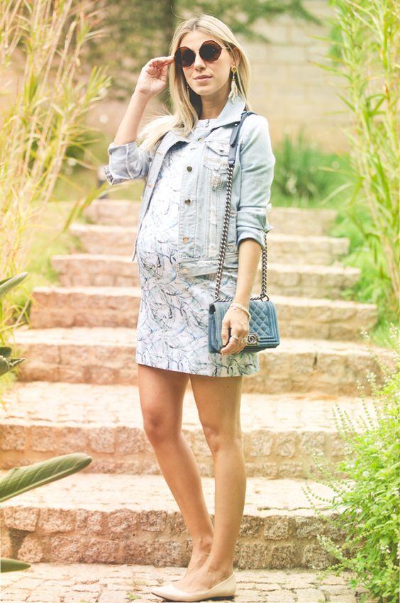 nati-vozza-vestido-azul. 35 semanas