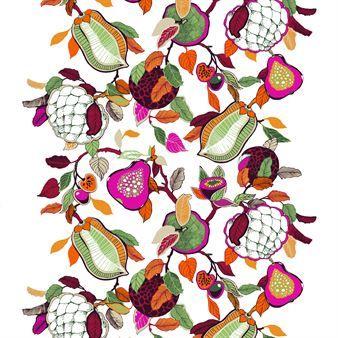 Fruity Stoff - rosa - Vallila Interior