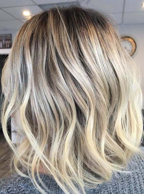 39 Bright Blonde Winter Hair Color Ideas For 2018 Fun Hair