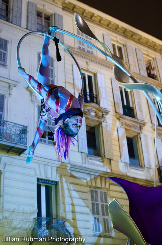 Carnaval processions in Nice