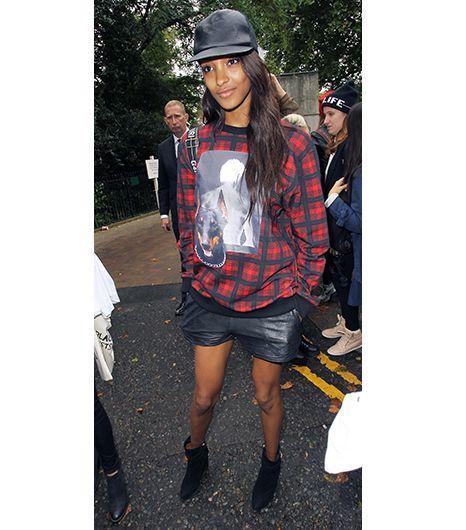 Givenchy Doberman and Photo Print Tartan Sweatshirt