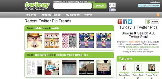 3 sites pour rechercher des photos sur Twitter - Le blog du Modérateur
