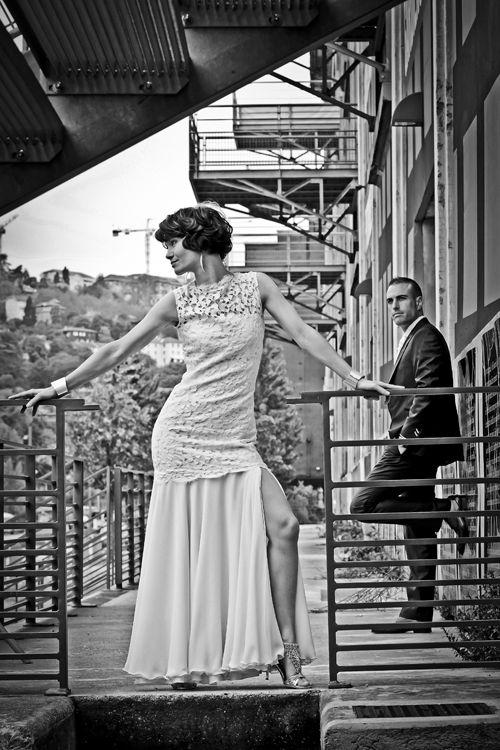 Photo de mariage sur Lyon, Quartier de Confluence , Photographe mariage ,  Photo Gil