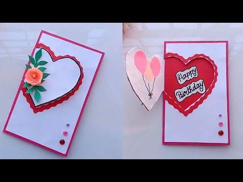 Beautiful Handmade Birthday Card Idea Diy Greeting Cards For Birthday Diy Greeting Cards For Birthday Greeting Cards Handmade Birthday Card Design Handmade