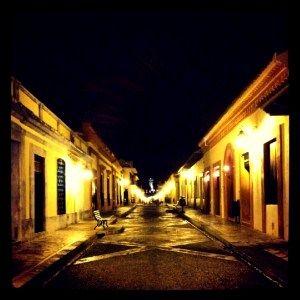 San Cristobal de las Casas - Streets at night