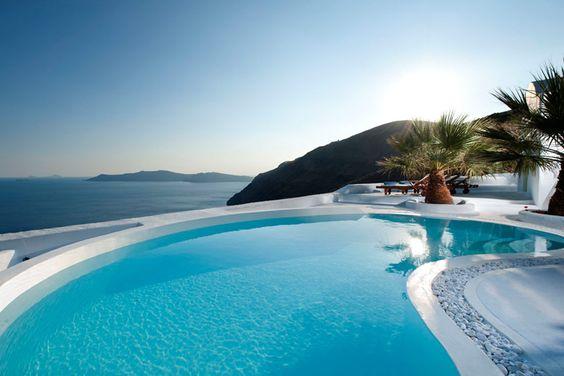 river rock, Santorini    #greek #greece #greekislands #greekdesign
