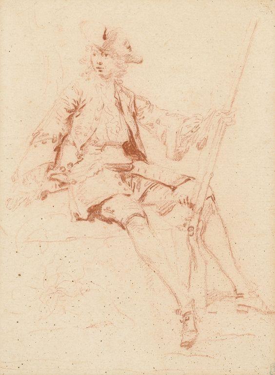 Nicolas Lancret  le chasseur Afficher l'image d'origine