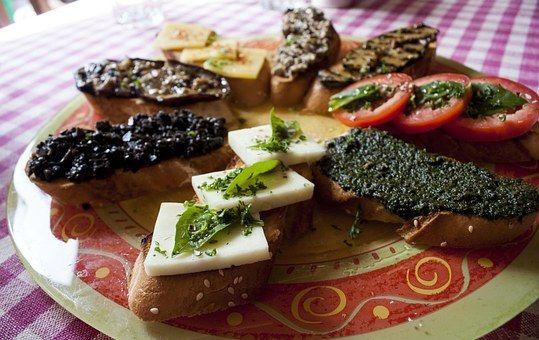 Italienisch, Lebensmittel, Brot