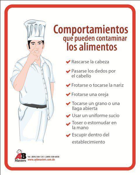 Higiene Y Seguridad En La Cocina Higiene De Los Alimentos Higiene Alimentaria Seguridad En La Cocina